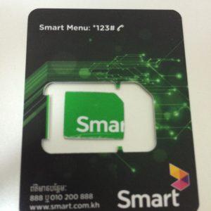カンボジアで現地SIMを購入してみた